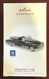 HALLMARK KEEPSAKE ORNAMENT 1938 BUICK Y-JOB LEGENDARY CONCEPT CARS ORNAMENT NEW