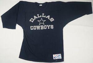 Rare Vintage CHAMPION Dallas Cowboys NFL Football LS Raglan T Shirt ... 4b9731134