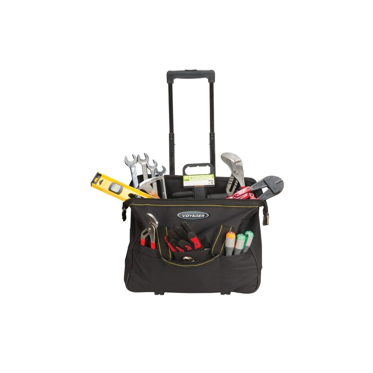 20 Inch Rolling Tool Bag Organizer Storage Tools Travel Bag Roller With Handle