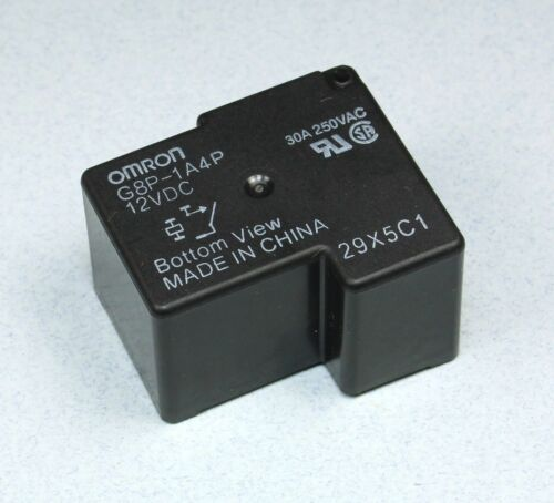 2pcs Omron General Purpose Relay G8P-1A4P-12VDC 30A 250VAC