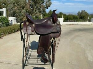 "Tucker High Plains Trail Saddle 17.5"" wide used"