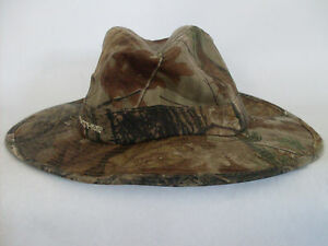 Image is loading Mens-039-s-Realtree-Camoflage-Western-Fedora-Size- c7d09d747e2