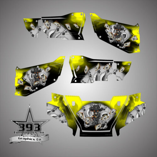Honda Pioneer 1000-5 Limited Deluxe Wrap Graphics Decal 2016-2019 Outlaw Skull