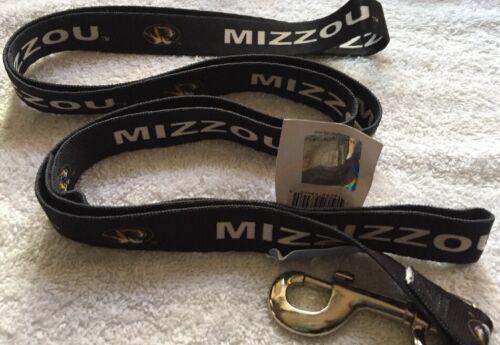 "Free Shipping Missouri Tigers 6/' x 1/"" Large Dog Leash w// MIZZOU and Logo Print"