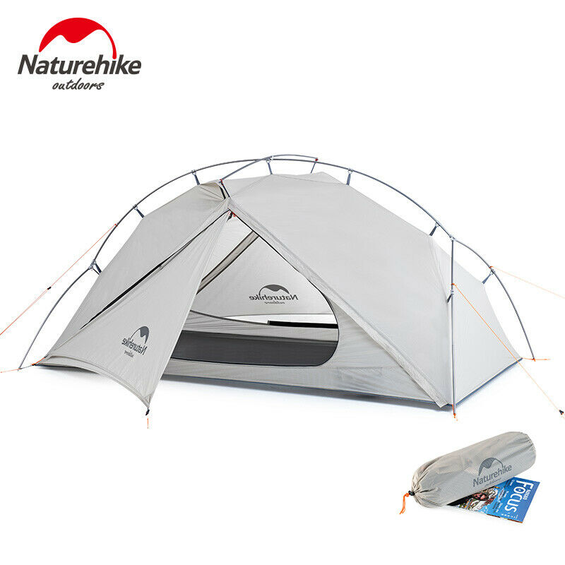 Naturehike VIK Utralight campeggio Tent Waterproof 1 Person Single Layer ciclismo