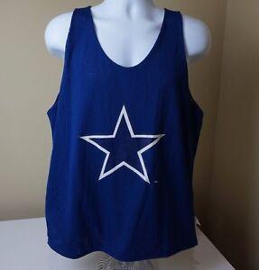 Vintage-Dallas-Cowboys-NFL-Starter-Reversible-Tank-Top-Jersey-Size-Medium-M