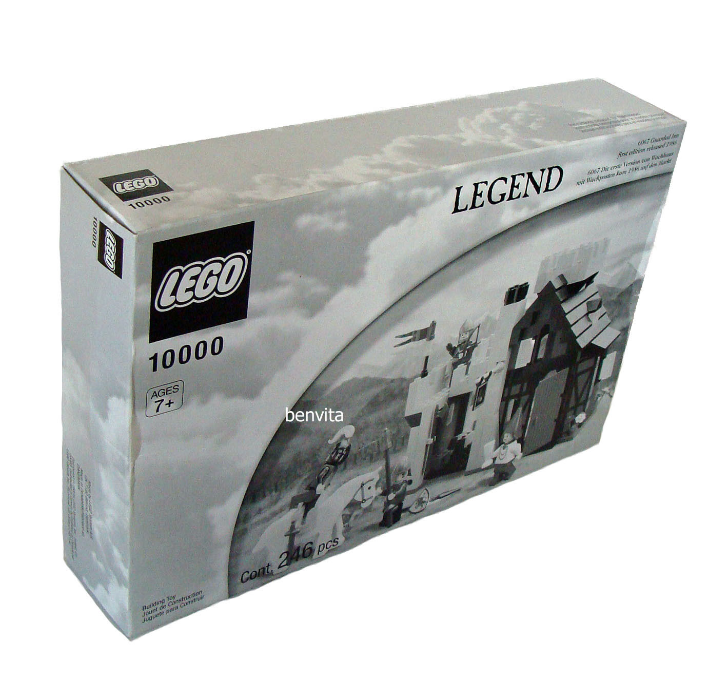 LEGO ® Legend - 10000  6067  Guarded Inn 246 parti 7+ - NUOVO