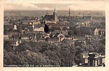 AK Brandenburg / Havel mit Blick auf St.-Katharinen-Kirche Ortsansicht Echt Foto
