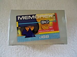 Memorex-034-NIP-034-10-Pack-dBS-90-Audio-Cassettes-034-GREAT-COLLECTIBLE-USEABLE-ITEM