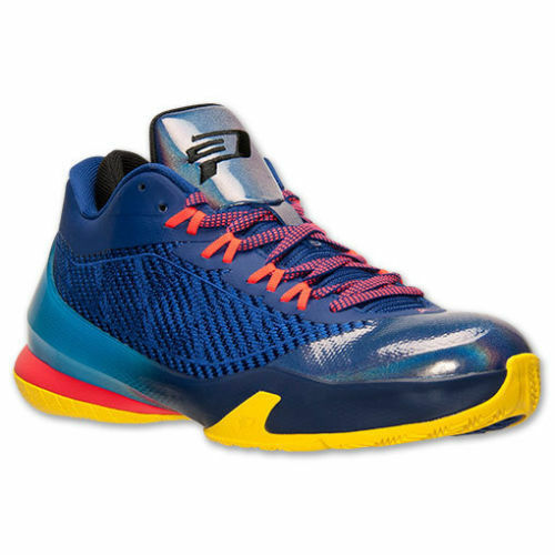 NEW BASKETBALL NIKE MENS JORDAN CP3.VllI BASKETBALL NEW SHOE Blue/Red/Yellow/Black 684855-420 846c90