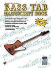 Bass TAB Manuscript Book by Warner Bros. Publications Inc.,U.S. (Paperback, 2002)
