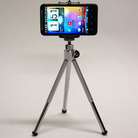 Dp 2in1 Cell Phone Mini Tripod For Straight Talk Huawei H215g Magna Raven Mount