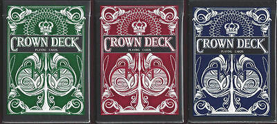 Adattabile Carte Da Gioco The Crown Deck,poker Size Buon Sapore