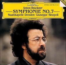 LN= Bruckner Symphony No 7 Staatskapelle Dresden Giuseppe Sinopoli CD