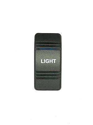Carling Boat Rocker Switch CoverBilge Black Illuminated