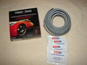 SILVER Trims4Rims by Rimblades-Alloy Wheel Rim Protectors//Trims//Guards