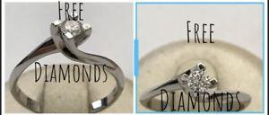 Fine Jewelry Jewelry & Watches Audacious Anello Solitario Valentino Oro 18kt Diamante 0,46 Ct Proposta Matrimonio