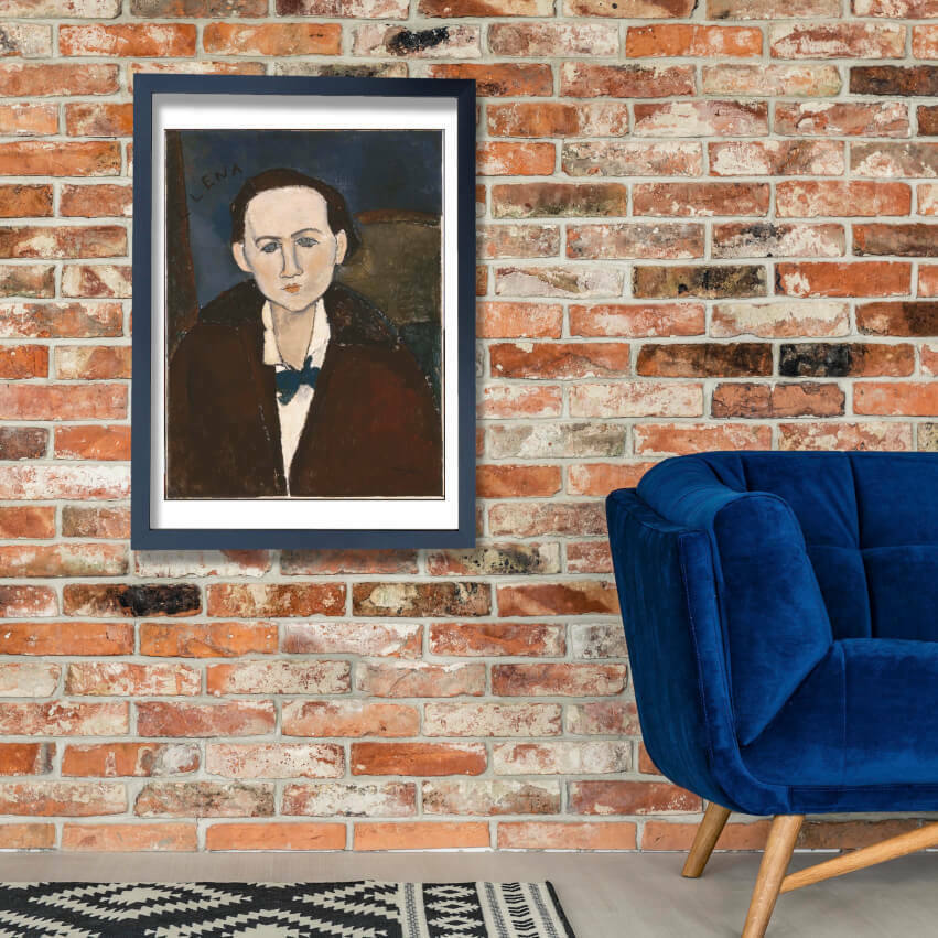 Amedeo Modigliani - Elena Povolozky Wall Art Poster Print