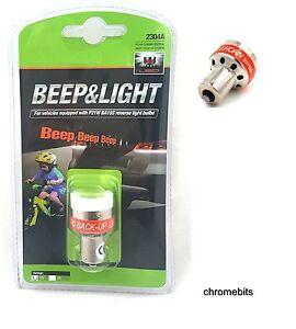 12v Reverse Reversing Bleeper Car 4x4 Van Transit back up bulb alarm beeper