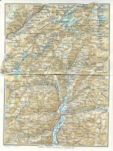 Cartina Geografica Piemonte Politica.Valle Dell Ossola Sempione Piemonte Carta Geografica Touring Club 1961 Ebay