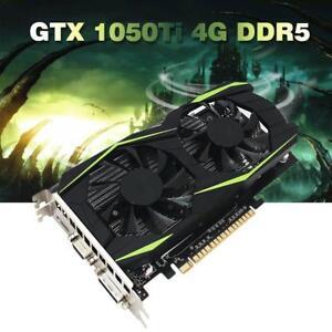 GTX1050Ti-128-Bit-PCI-E-Grafikkarte-4-GB-DDR5-Grafikkarte-VGA-DVI-HDMI-Gaming