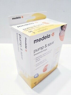 Medela Breast Milk Storage Bags Pump and Save Breastmilk Bags with Easy Conn...