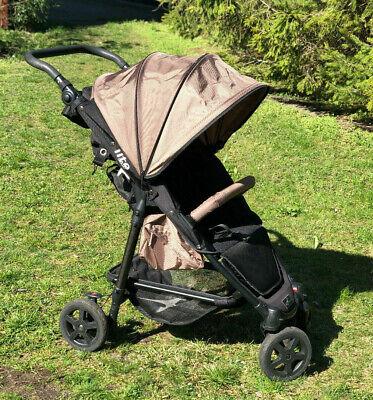Baby Sonnenschirm kompatibel mit Nuna Pepp blau