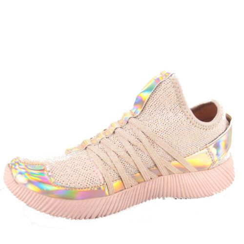 Youth Girls/'s Kid/'s Cute Light Weight Flat Slip On Sneaker Shoes size 9-4 NEW