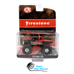 Greenlight-ACME-1-64-1974-Ford-F-250-Monster-Truck-Firestone-Bigfoot