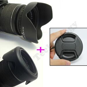 58MM-Reversible-Petal-Flower-Lens-Hood-Snap-on-cap-for-Canon-Rebel-T5i-T4i-T3i