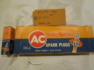 58-70-BBC-348-409-amp-396-427-454-AC-Delco-NOS-Spark-Plugs-RARE-Small-Fire-Ring