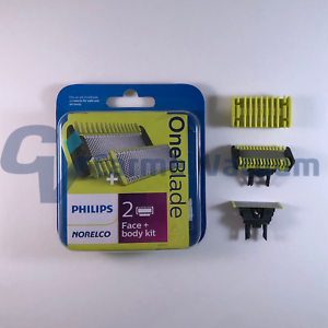 Norelco OneBlade QP620/80 Replacement Blade Face & Body Kit