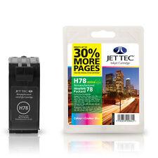 JET TEC H78 HIGH QUALITY REMANUFACTURED HP C6578A (HP78) COLOUR INK CARTRIDGE