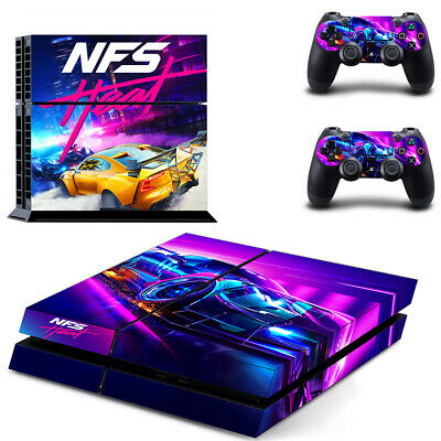 Need For Speed Heat Ps4 Skin Sticker Vinyl Decal For Console 2