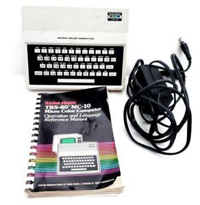 Radio-Shack-TRS-80-MC-10-26-3011-Micro-Color-Computer-Box-AC-Book-UNTESTED