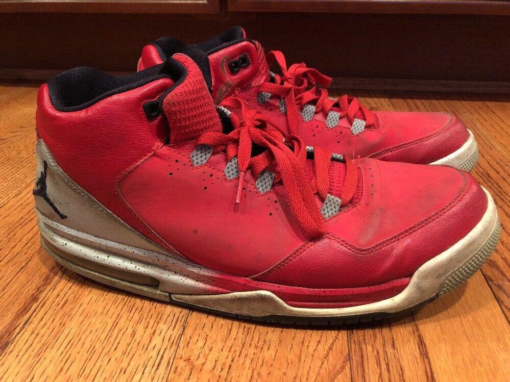 Nike Air Jordon Flight Red Sneakers Men Comfortable Brand discount
