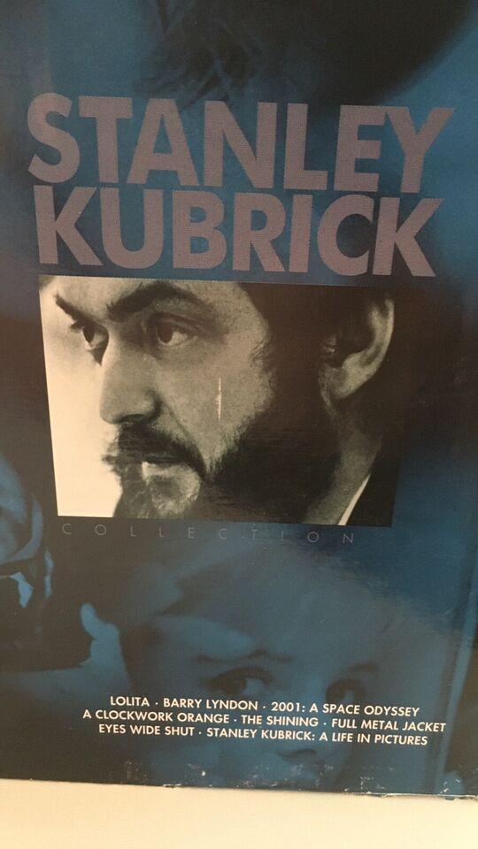 Stanley Kubrick Collectiion, instruktør Kubrick, DVD