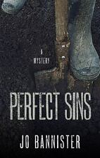 Perfect Sins by Jo Bannister (2015, Hardcover, Large Type)