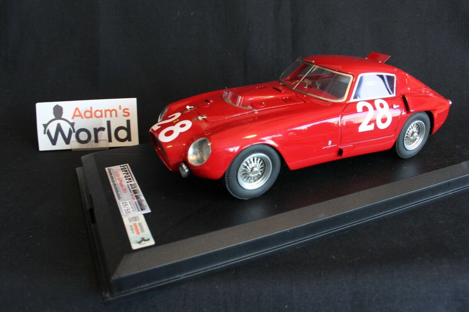 MG Model Ferrari 375 MM Berlinetta 1 18  28 Hawthorn   Maglioli Pescara (PJBB)