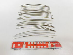 CJ534-0, 5 #35x Märklin H0/00 407 Catenary Wire Sections curved For Catenary