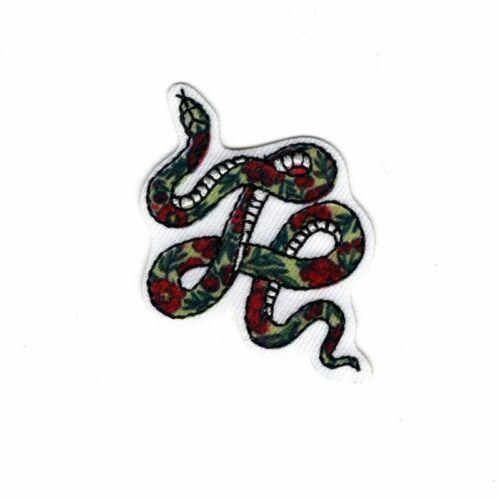 Patch Ecusson Thermocollant Serpent Inca 3 x 5 cm REF 4094