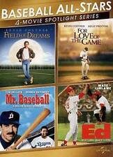 Baseball All-Stars: 4-Movie Spotlight Series (DVD, 2013, 2-Disc Set)