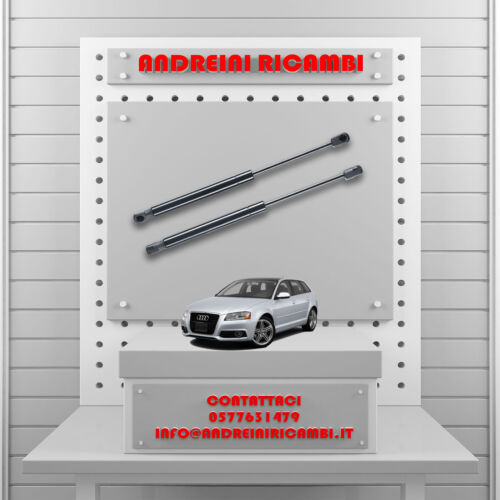 2 MOLLE A GAS BAGAGLIAIO AUDI A3 SPORTBACK 8P 3.2 V6 184KW 2004-/>2009 MG02071