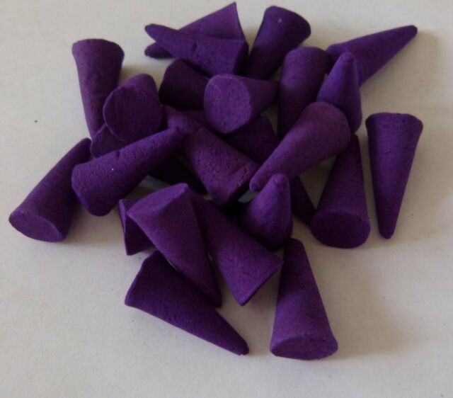 Incense Fragranced Cones Pack of 25 cones various scents
