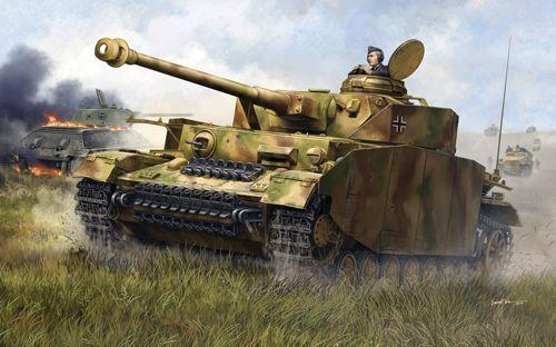 Trumpeter 1 16 Pz.Kpfw.IV Ausf.H Tank medio tedesco_; 00920