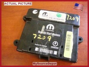 Mopar-05140464AA-Remote-Start-Control-Module-1030783-EVS-Security-System-DNA
