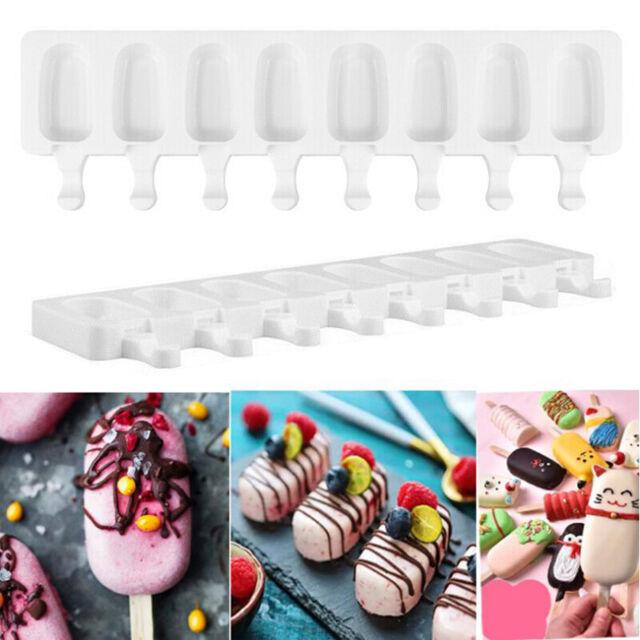 DIY Silicone Ice Cream Cake Mold Ice Baking Frozen Mould Dessert Maker Tool USA