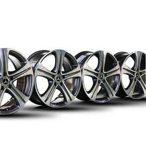 4x-Mercedes-18-Zoll-E-Klasse-W213-C238-A238-Alufelgen-Felgen-A2134011400-NEU