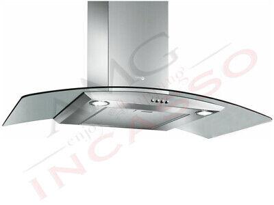 Cappa Turboair PANTHEON IX//A//60 68115382 Cm.60 Inox Vetro Curvo Incasso cucina