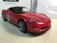 1/24 Franklin Mint Victory Red 2006 Corvette Z06 ZO6 Coupe S11E888 269 of 505